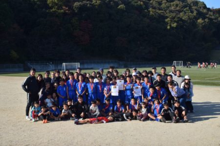 U12|第43回全日本U-12サッカー選手権大会 福岡県中央大会 3位入賞