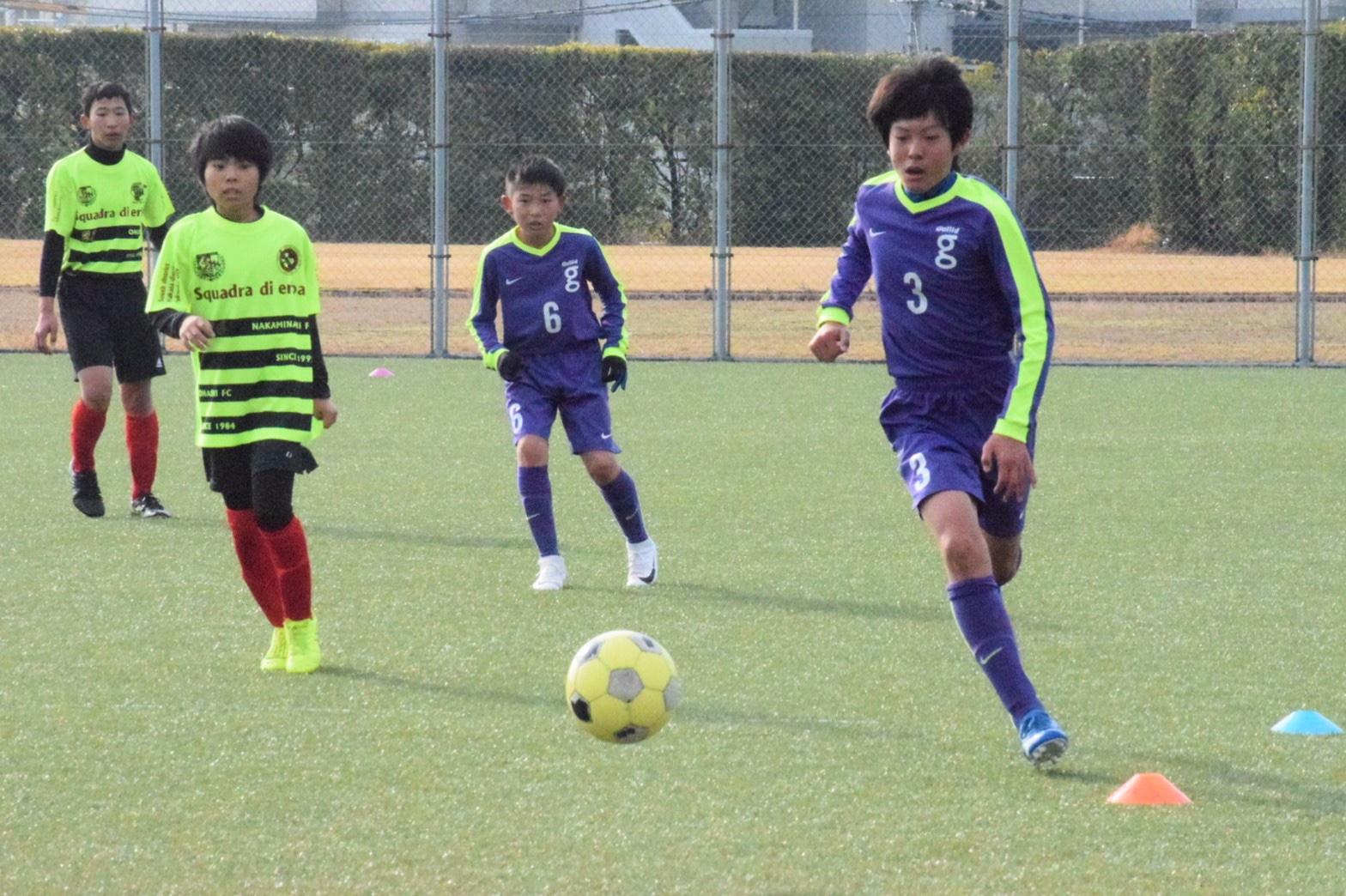 U12|TRM vs 大橋FC・那珂南FC