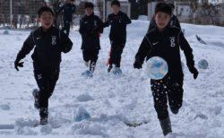 U13|雪上トレーニング